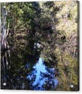 Reflections At Camps Creek  Acrylic Print