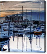 Reflections At Sunset Acrylic Print
