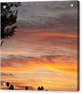 Reflections At The Close Of Day Acrylic Print