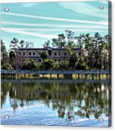 Reflections At The Lake Acrylic Print