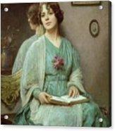 Reflections Acrylic Print by Ethel Porter Bailey