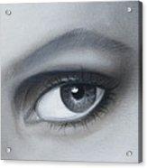 Reflections Eye Acrylic Print