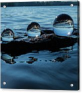 Reflections In Crystal Acrylic Print