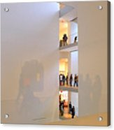 Reflections In Moma Acrylic Print