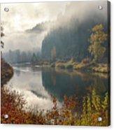 Reflections In The Joe Acrylic Print