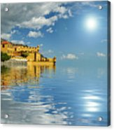 Reflections -madeira Acrylic Print