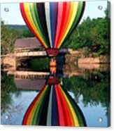 Reflections Of A Balloonist Acrylic Print