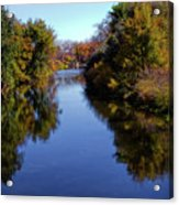 Reflections Of Autumn Acrylic Print