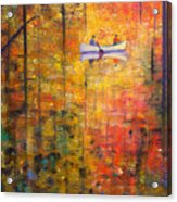 Reflections Of Autumn X Acrylic Print