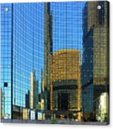 Reflections Of Chicago Acrylic Print