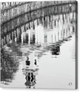Reflections Of Church 2 Acrylic Print