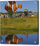 Reflections Of Flounder Acrylic Print