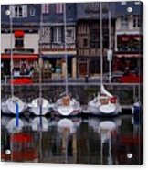 Reflections Of France Acrylic Print