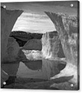 Reflections Of Ice Acrylic Print