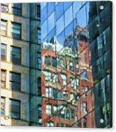 Reflections Of Manhattan Acrylic Print