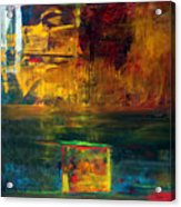 Reflections Of New York Acrylic Print