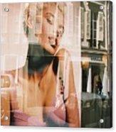 Reflections Of Paris Acrylic Print