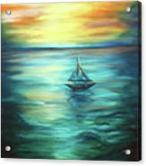 Reflections Of Peace Acrylic Print