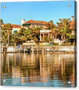 Reflections Of The Rich And Famous Acrylic Print
