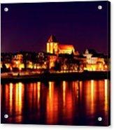 Reflections Of Torun Acrylic Print
