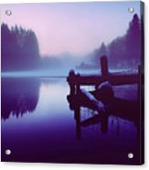 Reflections Of Winter Acrylic Print