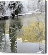 Reflections Of Winter Acrylic Print