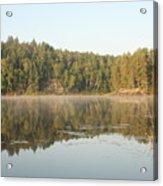 Reflections On Lake Four Acrylic Print
