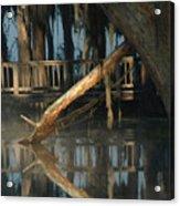 Reflections On Lake Pretty  Acrylic Print