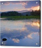 Reflections On Mica Bay Acrylic Print