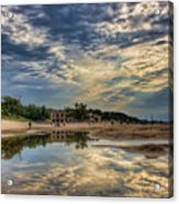Reflections On The Beach Acrylic Print