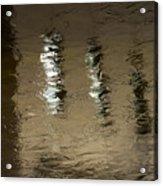 The Canal Saint Martin # 1. Acrylic Print