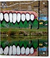 Reflective Canal 12 Acrylic Print