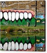 Reflective Canal 13 Acrylic Print