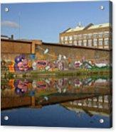 Reflective Canal 4 Acrylic Print