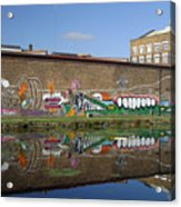 Reflective Canal 6 Acrylic Print
