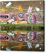 Reflective Canal 8 Acrylic Print