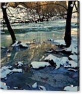 Reflective Chill Acrylic Print