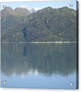 Reflective Moment In Glacier Bay Acrylic Print