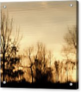 Reflective Moments Acrylic Print