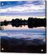 Reflective River  Acrylic Print