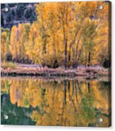 Reflecton Before Sunrise Acrylic Print