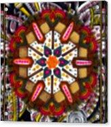 Regal Mandala Acrylic Print