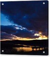 Regal Sundown Acrylic Print