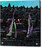Regatta 2 Acrylic Print