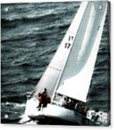 Regatta Sailboat Races Acrylic Print