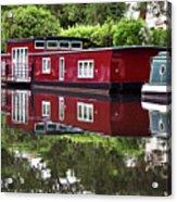 Regent Houseboats Acrylic Print