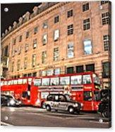 Regent Street  Acrylic Print