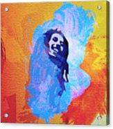 Reggae Kings Acrylic Print by Naxart Studio