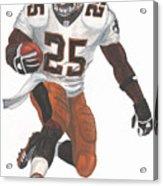 Reggie Bush New Orleans Saints Acrylic Print