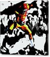 Reggie Bush Up And Over Acrylic Print